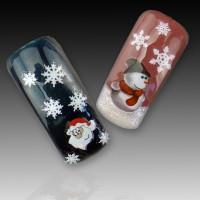 Коледни ваденки за нокти