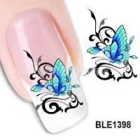 Ваденки пеперуди за декорация на нокти