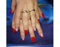 Гел лак Pretty 19 Нахално Червен цвят - 1426