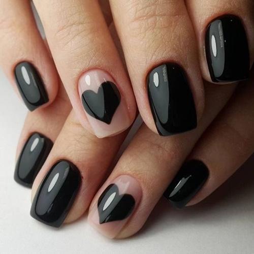 Гел лак Pretty Черен