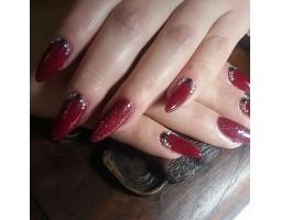 Гел лак Pretty 920  Тъмно червено