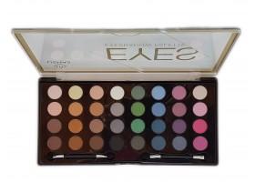 32 цвята палитра сенки за очи
