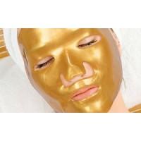 Златна маска  за лице с мигновен лифтинг ефект за многократна употреба.