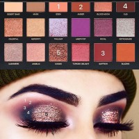 Палитра Huda Beauty - desert dusk