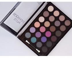 Палитра сенки за очи 24 цвята Ushas - лилаво