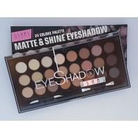 Палитра сенки за очи 24 цвята Ushas Matte Shine