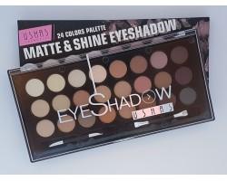 Палитра сенки за очи 24 цвята Ushas Matte &  Shine