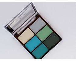 Комплект сенки 6 цвята зелено