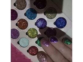 16 цвята палитра брокат сенки за очи ALLURE
