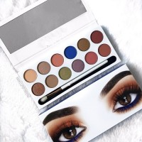 Палитра сенки за очи от 12 цвята -  MEGANE