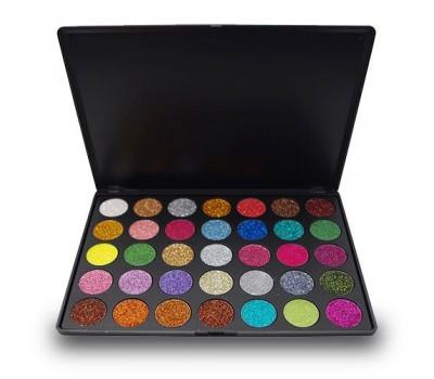 35 цвята палитра сенки за очи