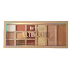 Ultimate - 9 цвята сенки и 3 цвята хайлайтър