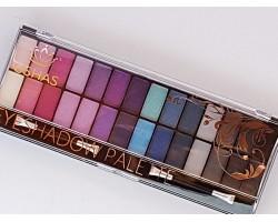Палитра сенки за очи 28 цвята Ushas - лилаво