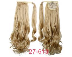 Къдрава опашка от изкуствена коса #27-613