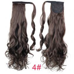 Къдрава опашка от изкуствена коса #4