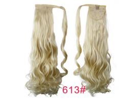 Къдрава опашка от изкуствена коса #613