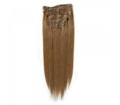 100% естествена коса 7 реда -160 лв естествено руса 18