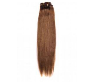 100% естествена коса 7 реда -160 лв светло кафява 6