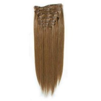 100% естествена коса 7 реда -160 лв тъмно руса 8