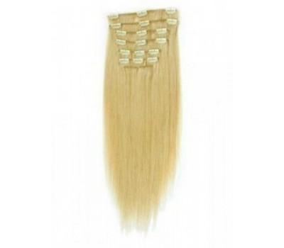 100% естествена коса 7 реда -160 лв златисто руса 613
