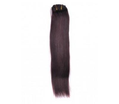 100% естествена коса 7 реда -160лв кафява 4