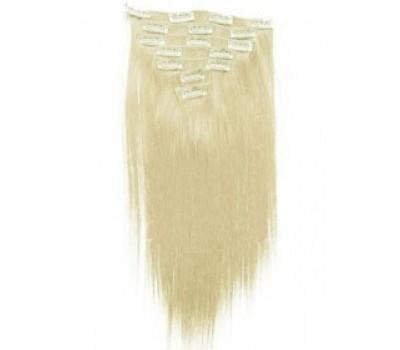 100% естествена коса 7 реда -160лв пясъчно руса 22
