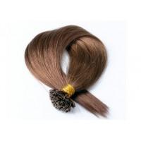 Кичури от естествена коса кафява 57 см - 50 гр - 50 бр