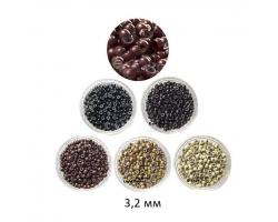 Заоблени капси със силикон  3,2 мм