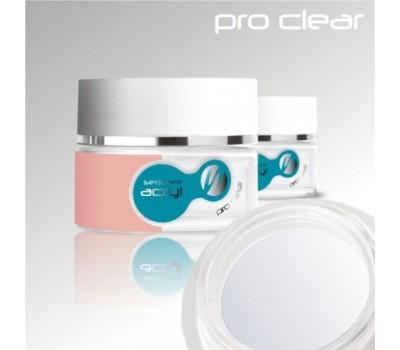 Акрилен прах Прозрачен или Розов PRO 24 g