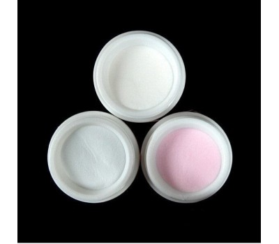 Акрилен прах  3 бр ,розов ,прозрачен ,бял