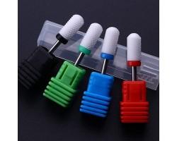 Керамични заоблени накрайници за електрическа пила