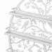Мострена поставка за лакове - бяла
