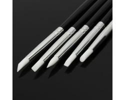 Силиконови четки за 3D декорации 5 бр комплект-черни