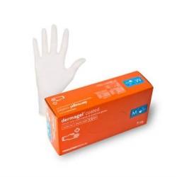 Ръкавици без пудра , латекс Dermagel Coated