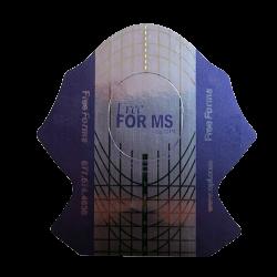 Форми за изграждане на маникюр N 08