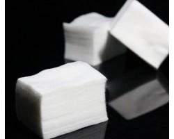 Памучни тампони за сваляне на лепкавия слой, без да оставят власинки
