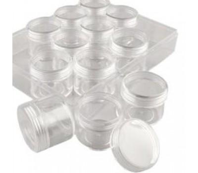 Празна кутийка - козметично бурканче за козметика или съхранение