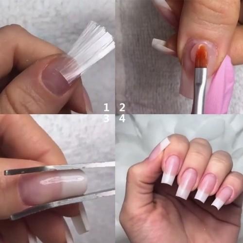 Фибростъкло за изграждане на нокти