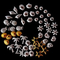 Декорация бижута за нокти-морски декорации