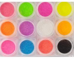 12 цвята неон пясъчен ефект