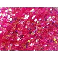 Едър празничен розов брокат
