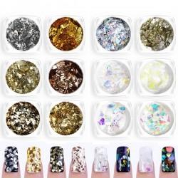 6 цвята ефект счупено стъкло