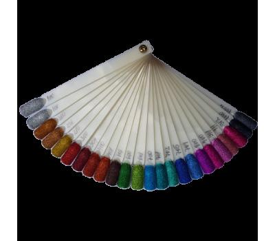 Брокат TCA - с холограмен ефект - изберете цвят