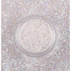 Микроблясък в бяло