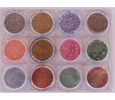 12 цвята пясъчен ефект
