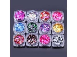 Комплект конфети 12 броя