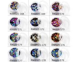 Конфети 12 бр с различен цвят   RAM321