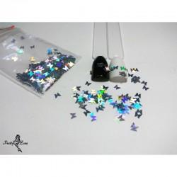 Конфети Сребърни Пеперуди