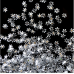 Конфети снежинки