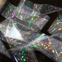 Ролка Фолио счупено стъкло в бяло